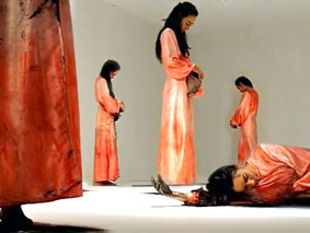 Forty Weeks: A performance-installation By Kata Mejía (Videos)