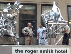James Knowles' Urban Sculptures